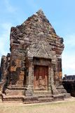Castle poo temple in Lao national. Castle poo temple is archaeological site of the world in lao national Royalty Free Stock Images