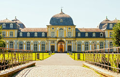 Castle Poppelsdorf. Completed in 1753 by Clemens August, in the center of Bonn, Germany Royalty Free Stock Image