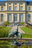 Castle Poppelsdorf. Completed in 1753 by Clemens August, in the center of Bonn, Germany royalty free stock photography