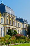 Castle Poppelsdorf. Completed in 1753 by Clemens August, in the center of Bonn, Germany Royalty Free Stock Images