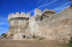 Castle of Populonia, Italy Royalty Free Stock Photography