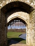 Castle Portcullis Stock Images