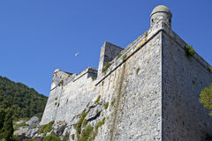 Castle of Portovenere Italy Stock Photos