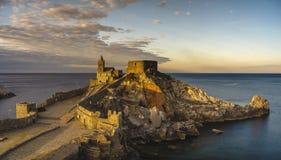 Castle Portovenere Royalty Free Stock Image