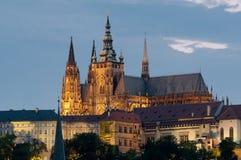Castle of Prague stock photos