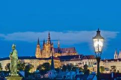 Castle of Prague stock image