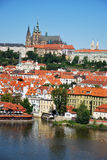 The castle of Prague Royalty Free Stock Photo