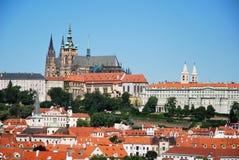 The castle of Prague Stock Image