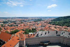 In the castle of Prague Stock Photo