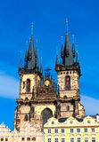 Castle in  Prague Royalty Free Stock Images