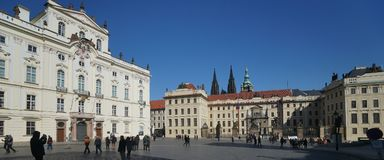 Castle of Prague, Czech Republic Royalty Free Stock Photography