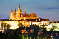Castle in Prague Stock Photography