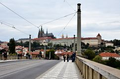 The Castle of Prague Stock Photo