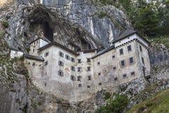 Castle Predjama, Σλοβενία Στοκ εικόνα με δικαίωμα ελεύθερης χρήσης