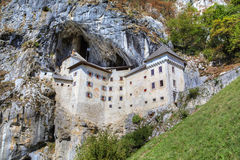 Castle of Predjama (Predjamski grad or Grad Predjama) Royalty Free Stock Image