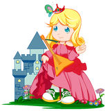 Castle princess Royalty Free Stock Photos