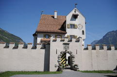 Castle A Pro. Is situated in the canton of Uri, in the heart of Switzerland. It is open to the public... as restaurant, museum and cafe. Enjoy your stay in this Royalty Free Stock Photos
