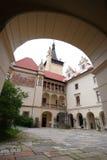 The castle Pruhonice. Near Prague, Czech Republic, Europe Stock Photo