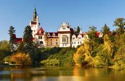 Castle Pruhonice Prague Landmark Bohemia Royalty Free Stock Image