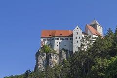 Castle Prunn in the Altmühl valley Royalty Free Stock Photos