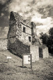 Castle Pusty hrad, Slovakia Royalty Free Stock Images
