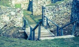 Castle Pusty hrad, Slovakia Stock Images