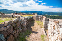 Castle Pusty hrad, Slovakia Stock Image
