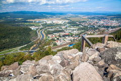 Castle Pusty hrad, Slovakia Royalty Free Stock Photos
