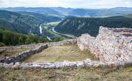Castle Pusty hrad, Slovakia Royalty Free Stock Photography