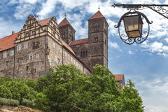 Castle Quedlinburg Stock Photography