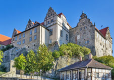 Castle in Quedlinburg, Germany Royalty Free Stock Photography
