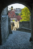 Castle in Quedlinburg, Germany Stock Image