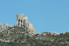 Castle of Queribus Stock Image