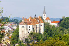 Castle of Raabs an der Thaya Royalty Free Stock Image