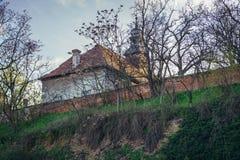 Castle in Rabensburg. Schloss Rabensburg castle in Rabensburg village in Austria near the Slovakian border Stock Image