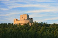 Castle Rabi Stock Photography