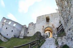 Castle Rabi Stock Image