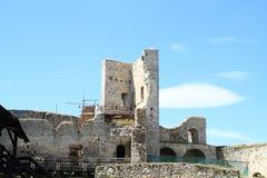 Castle Rabi in reconstruction Royalty Free Stock Photos