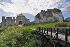 Castle in Rabsztyn Royalty Free Stock Photos