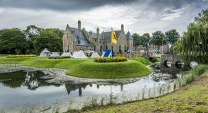 Castle Radboud σε Medemblik, Κάτω Χώρες Στοκ Φωτογραφίες