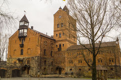 Castle Radomysl. Radomysl Castle - specific hotel in Ukraine Stock Images