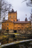 Castle Radomysl. Radomysl Castle - specific hotel in Ukraine Stock Photos