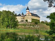 Castle Radun (Raduň) Royalty Free Stock Photography
