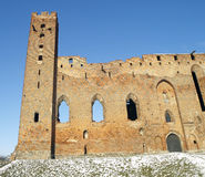 Castle in Radzyn Chelminski Stock Photography