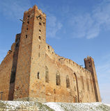Castle in Radzyn Chelminski Royalty Free Stock Photography