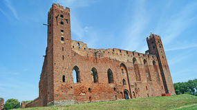 Castle in Radzyn Chelminski Royalty Free Stock Photos