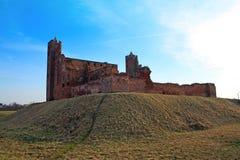 Castle in Radzyn Chelminski, Poland Stock Photo