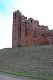 Castle in Radzyn Chelminski, Poland Royalty Free Stock Photos