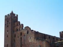 Castle in Radzyn Chelminski Royalty Free Stock Images