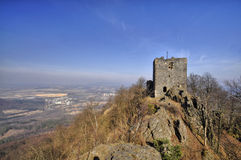 Castle Ralsko Royalty Free Stock Image